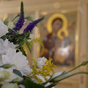 Всенощное бдение в Свято-Никольском храме в селе Макарово.