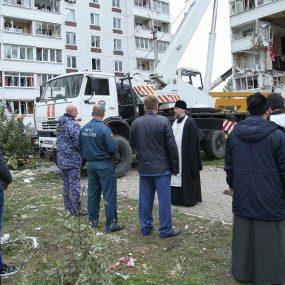 Лития о упокоении погибших при взрыве газа в Ногинске
