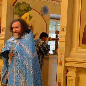 5 сентября 2021 года. В Свято-Никольском храме в селе Макарово после литургии совершался молебен о сохранении творения Божия.