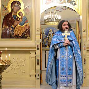 Проповедь протоиерея Андрея Фёдорова в Никольском храме (с. Макарово).